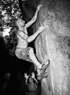 Some people never grow out of their climbing stage. #bouldering #endorsed Photo by Alessandro Valli