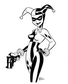 mkwnsqrt:  send me your pictures and videos and follow me lets do something special here. mkwnsqrt@yahoo.com I will not post anything unless you give me permission to do so marvelous-mr-m:  Harley Quinn by Bruce Timm.