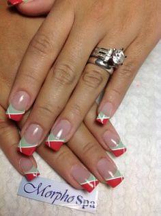 Verde rojo blanco