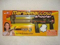$24.95  MARSHMALLOW SHOOTER Camo series RAPID FIRE ACTION mini Fun