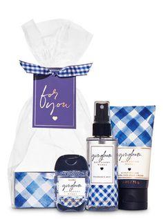Gingham Mini Gift Set | Bath & Body Works Bath N Body Works, Bath And Body, Diy Beauty Treatments, Ultra Shea Body Cream, Fragrance Mist, Body Mist, Smell Good, Gifts For Family, Hand Sanitizer