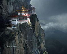 Paro Taktsand (Tiger's Nest Monastery) built on the edge of a 3,000-feet-high cliff Architect: Gyalse Tenzin Rabgye Location Paro Valley, Bhutan Opened: 1692 Dedicated to: Padmasambhava