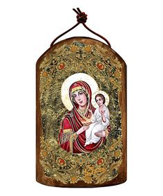 Love this Virgin Mary Directress Icon Ornament on #zulily! #zulilyfinds