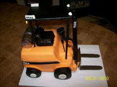 forklift cakes - Google Search