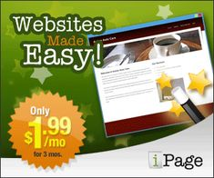 Site Builder Banner for iPage  300x250