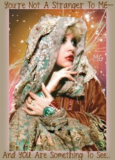 Stevie Nicks Holiday image, via Facebook page Stevie Nicks for The Rock and Roll Hall of Fame.