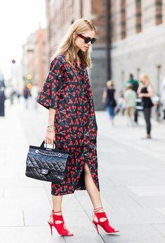 Lo Mejor de Street Style. Ideas de look, prenda clave- vestido.
