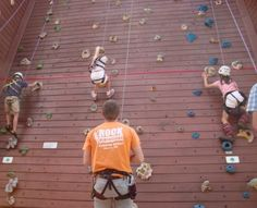 Kids climbing the walls after all that Christmas shopping? Check out Rock Dimensions Climbing Tower, S. Depot St. | Downtown Boone, NC