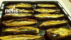 3 ,kaşık Yağ İle Karnıyarıklık Patlıcan Kızartma (çok Pratik)