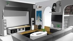Home Theater Setup That'll Wow You