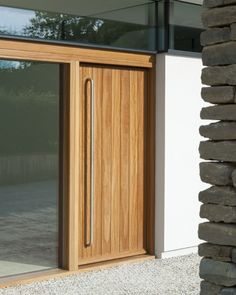 Urban Front - Contemporary front doors UK | designs | porto- vertical wood