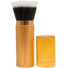 Real Techniques by Samantha Chapman, Retractable Bronzer Brush, 1 Brush  iherb discount coupon code:JWH658,$10 OFF