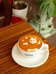 winnie the pooh cafe latte ♥ Coffee