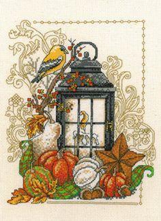 Harvest Light - Cross Stitch Pattern