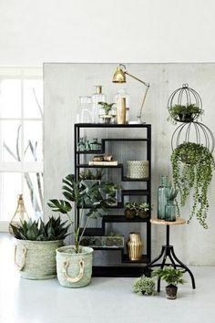 Buy Lene Bjerre Depot Frame Shelving Unit online with Houseology's Price Promise. Full Lene Bjerre collection with UK & International shipping. Ikea Garden Furniture, All Wood Furniture, Handmade Furniture, Deco Gamer, Metal Shelving Units, Ikea Metal Shelves, Eclectic Decor, Plant Decor, Traditional House