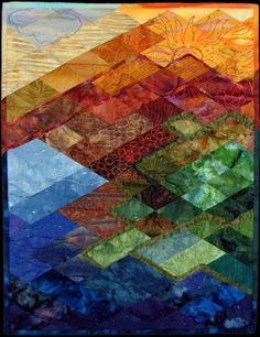 Where the River Joins the Sea:   Yemaya Assessu by Wendy Wetzel of Flagstaff, Arizona