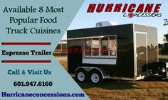 Advanced Concession Trailers in Mississippi