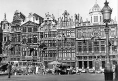 Grand-Place - Grote Markt 1969 © Bruno Brunelli