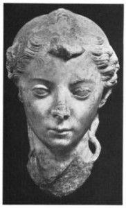 JULIA CAESARIS, SISTER OF JULIUS CAESAR (101BC-51BC), was the second sister of Julius Caesar.  Julia bore three daughters.  She passed Caesar's illustrious bloodline through her second daugher Atia to her grandson Augustus, founder of the Roman Empire, as well as her great-great-grandson Claudius, Rome's 4th emperor.