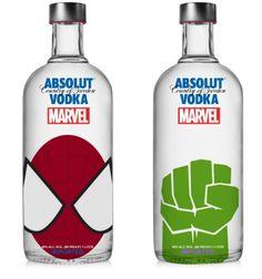 Aunque muchos medios reprodujeron la noticia como verdadera, lo cierto es que Absolut Vodka y Marvel no están pensando en una alianza semejante. Los diseños son del indonesio Krizia Soetaniman.
