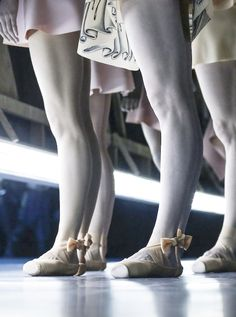 Viktor & Rolf Spring 2014couture - the collection was modeled by dancers of the Dutch National Ballet.