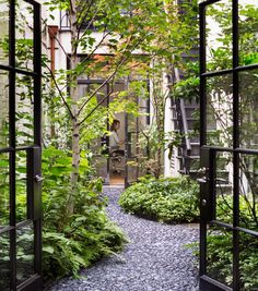 .Probably not an option for us, but nice courtyard.