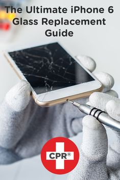Cracked iPhone 6? Check out CPR's Ultimate iPhone 6 Glass Replaement Guide for step-by-step DIY screen repair instructions!