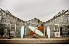 Before his surfboards become masterpieces gliding down the line, Ryan Lovelace crafts them from start to finish