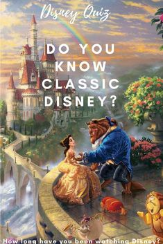 Disney films have a magic and charm of their own and are a global phenomenon. If you are a lover of all things Disney, see if you can sing your way through this Disney classics quiz!