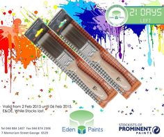 It's our birthday countdown and we have lots of specials! The Denizer brush will be on sale for only This offer is valid from the - of Feb, while stocks last, E&OE. Birthday Countdown, 21st Birthday, Painting, Painting Art, Paintings, Painted Canvas, Drawings