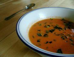 Cream of Garden Tomato Soup - Pressure Cooker - West