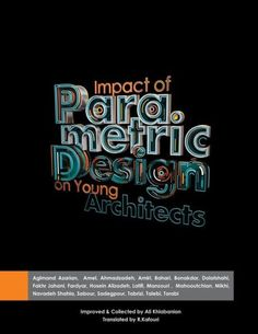 Impact of parametric design on young Architects