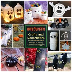 halloween crafts instructions and decorations ideas