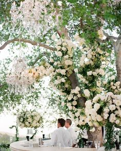 Revelry Event Designers: The wedding embraced an ethereal and garden inspired vision. Featuring our bar and decor. Paris Wedding, Star Wedding, Dream Wedding, Wedding Lounge, Wedding Things, Wedding Bells, Summer Wedding, Wedding Flowers, Mindy Weiss