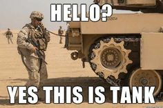 Exterior tank-infantry telephone installed on Abrams as part of TUSK (Tank Urban Survival Kit) x Military Quotes, Military Humor, Military Love, Military Shop, Marine Corps Memes, Marine Humor, Usmc Humor, Marines Funny, Funny Army