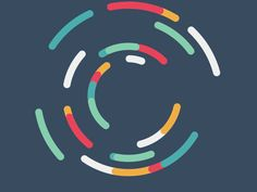 Circles by John Flores animation - motion graphics and gifs Motion Design, Gifs, Anim Gif, Ios Design, Dashboard Design, Flat Design, Branding, Circle Design, Character Design