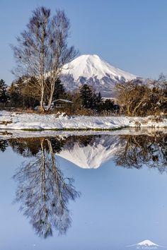 東京カメラ部 Popular this week:小林勝 Monte Fuji, Japanese Nature, Aesthetic Japan, Japan Travel, Beautiful Places, Scenery, Volcanoes, Mountains, World
