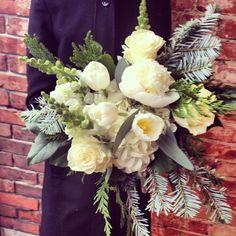 Wintertime bouquet {Botany Floral Studio}