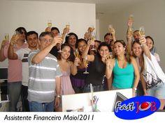 Turma do Curso Assistente Financeiro Intensivo em Maio/2011