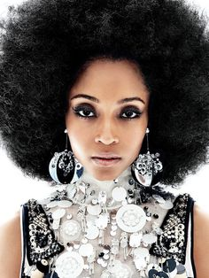 Yaya Dacosta by Bobby Doherty for New York Magazine. Source: My Coloures