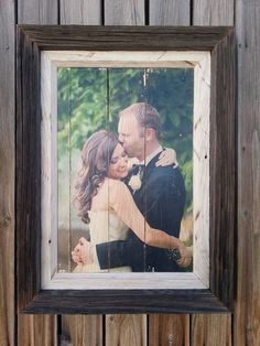 Eco-Friendly Rustic Pallet Portraits - Wedding, picture frames,wall art, portraits, rustic frames, rustic pictures, digital photography by JSLRanchRustics on Etsy https://www.etsy.com/listing/159398945/eco-friendly-rustic-pallet-portraits