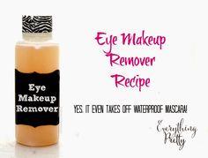 DIY eye makeup recipe via www.yourbeautyblog.com