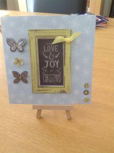 Craftwork cards chalkboard christmas