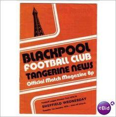 Blackpool v Sheffield Wednesday 01/01/1974 Division 2 Football Programme Sale