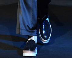 Hogan Scarpe Primavera Estate 2017: Oro, Cuori e Fiori dalla Fashion Week hogan-scarpe-primavera-estate-2017-platform