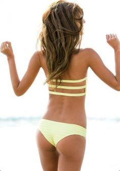 Beachwear at www.7evenBeachBoutique.com love the back  of the bikini