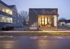 The Live Work Home is a sustainable, social response to Syracuse's 21st century concerns as a post-industrial American city. Inspired by the legend of the Th...