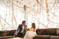 Yarn, String & Macrame Wedding Details
