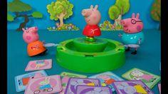 Свинка Пеппа игра. Распаковка и обзор игры для детей Свинка Пеппа. Весел...