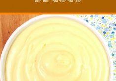 Rellenos Peanut Butter, Pudding, Desserts, Food, Gastronomia, Home, Coconut Cream, Coconut Milk, Torte Recipe